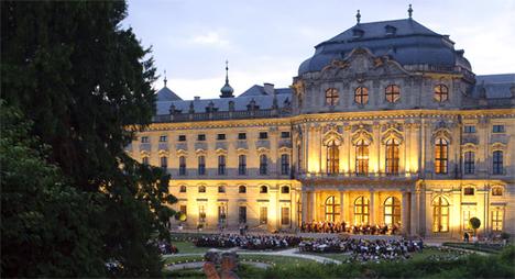 Würzburger Residenz bei Nacht I Mozartfest