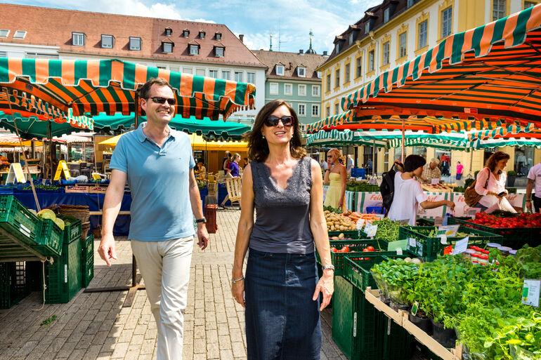 Foto: Paar auf Unterer Markt